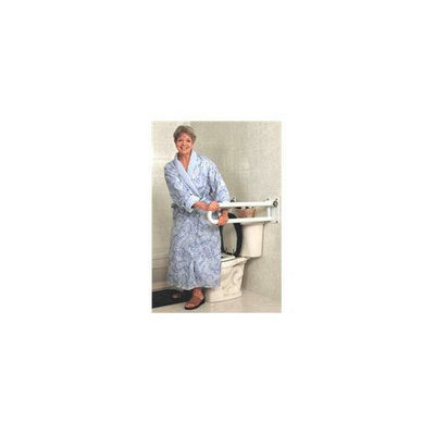 HealthCraft Products PT-WR32R-PCW P. T.  Rail- Hinged- 32  -81cm- Right- White