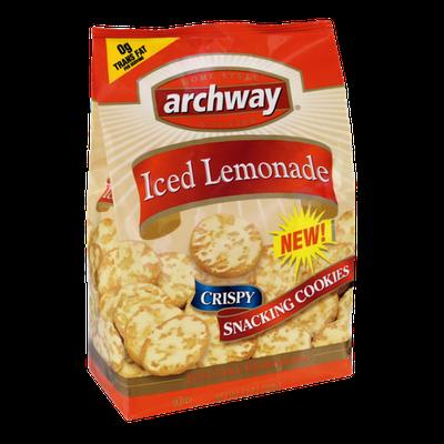 Archway Iced Lemonade Crispy Snacking Cookies