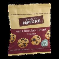 Back To Nature Mini Chocolate Chunk Cookies