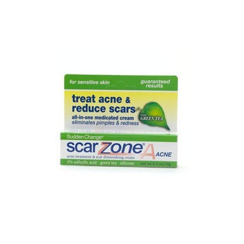 Cca Industries Scar Zone A Acne with Green Tea 0.5 oz