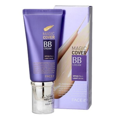 The Face Shop [TheFaceShop] Face It Magic Cover BB Cream 45ml (02 Natural Beige)