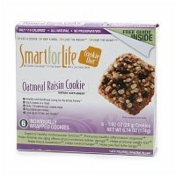 Smart for Life Cookie Diet Meal Replacements, Chocolate Chip Cookies, 1.023 oz cookie - 12-count