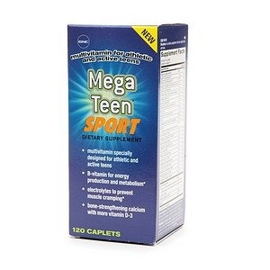 GNC Teens Mega Teen Sport Multivitamin