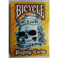 US Playing Card Company Bicycle Yellow Tattoo Playing Cards