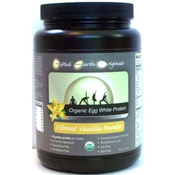 Gifted Earth Originals GEO Vibrant Vanilla Organic Egg White Protein Shake