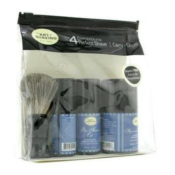 The Art of Shaving The Carry On Kit, Lavender for Sensitive Skin, Lavender 1 set