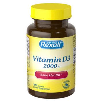 Rexall Vitamin D3 2000 iu - Tablets, 100 ct