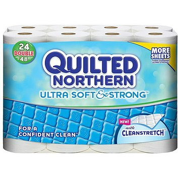 Quilted Northern Roll Toilet Paper