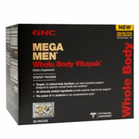 GNC Mega Men Whole Body Vitapak Program, 30 ea