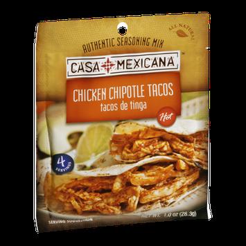 Casa Mexicana Seasoning Mix Chicken Chipotle Tacos