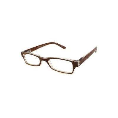 NVU Eyewear Reading Glasses - Bedford Brown & Clear / BEDFORD BROWN +1.75-BEDFORDBRN175