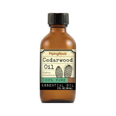 Piping Rock Cedarwood Essential Oil 2 fl oz 100% Pure Oil Therapeutic Grade