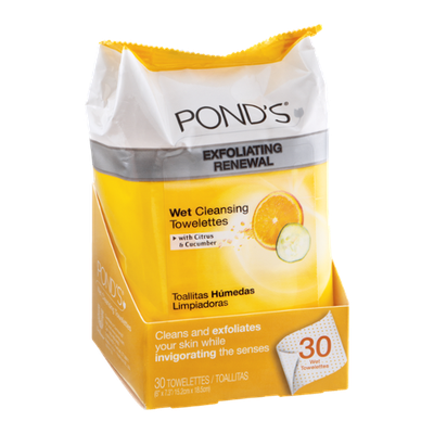 POND's Exfoliating Renewal Wet Cleansing Towelettes