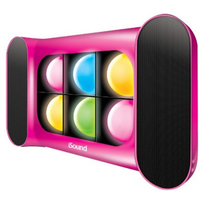 Isound ISOUND-5248 2.0 Speaker System - 3 W RMS - Pink