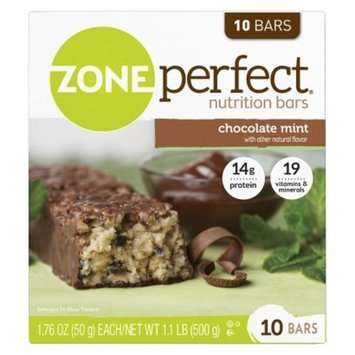 ZonePerfect Chocolate Mint Nutrition Bars - 10 Count