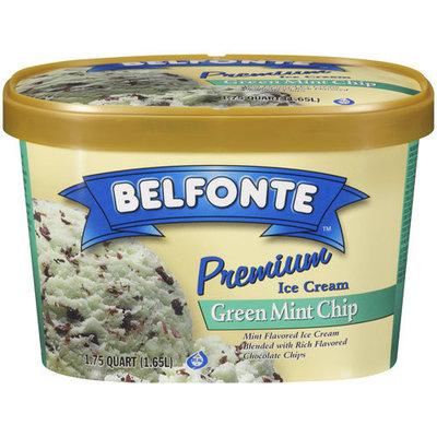 Placeholder Belfonte Premium Green Mint Chip Ice Cream, 1.75 qt