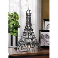 Zingz & Thingz 57071178 Eiffel Tower Candle Stand