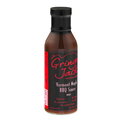 Gringo Jack's Vermont Maple BBQ Sauce Mild