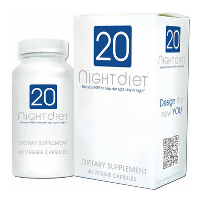 Creative Bioscience 20 Night Diet Veggie Capsules