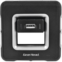 Gear Head 7-Port USB 2.0 Hub, Black
