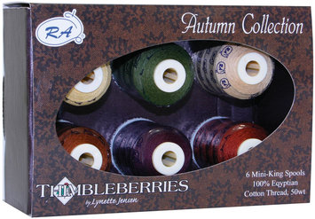 Robison-anton Thimbleberries Cotton Thread Collections 500 Yards 6/Pkg-Autumn