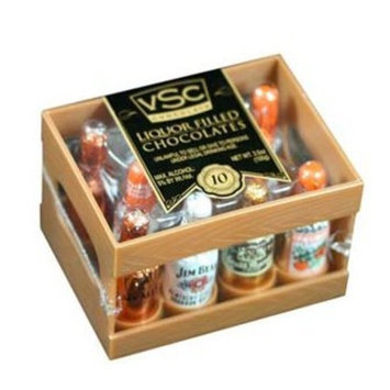 Very Special Chocolates 10 Count Liquor Filled Chocolates, 10 Count Box