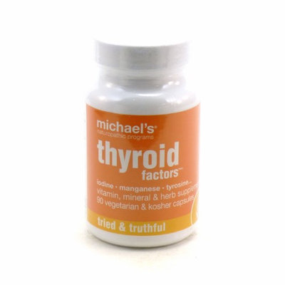 Michaels Naturopathic Programs Michael's Naturopathic Programs - Thyroid Factors - 90 Vegetarian Capsules