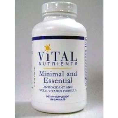 Vital Nutrients - Minimal and Essential 180 caps