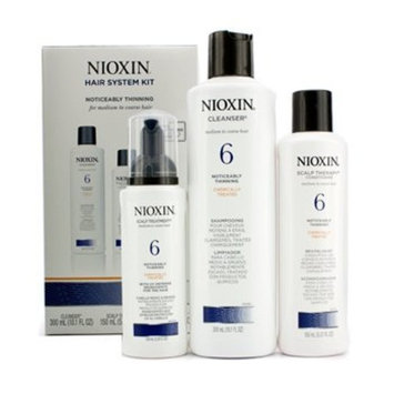 Nioxin System 6 - 3 Part System thinning medium coarse Kit Misc.