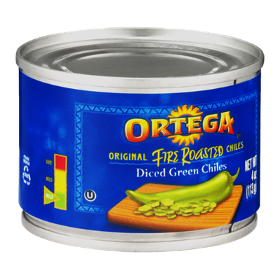 Ortega Original Fire Roasted Diced Green Chiles