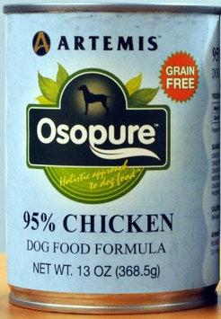 Artemis Pet Food Co 133140 Art Osopure 95 Chicken Dog 12-13 Oz. Pack of 12