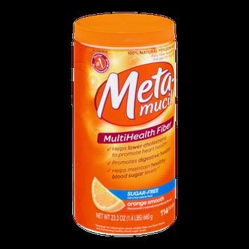 Metamucil Multi-Health Fiber Powder Orange Smooth