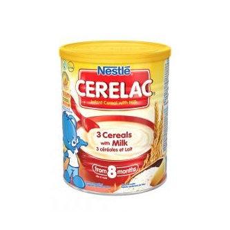 Nestle® CERELAC® 3 Cereals with Milk