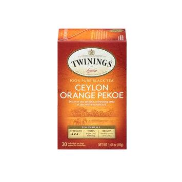 TWININGS® OF London Ceylon Orange Pekoe Tea Bags