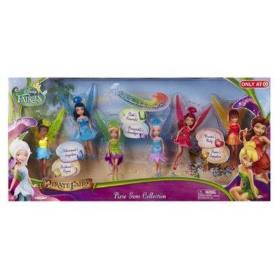 Disney Fairies The Pirate Fairy 4.5 Pixie Gem Collection Doll 6pk