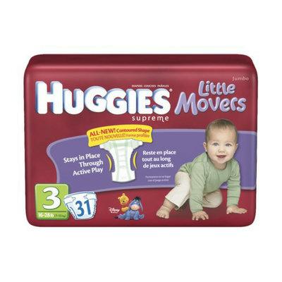 Huggies Natural Fit Diapers - Size 3 (35 pk.)