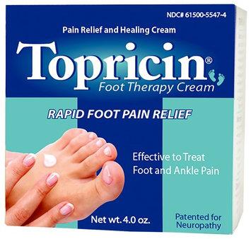 Topricin 4-Oz. Foot Therapy Cream