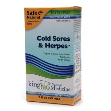 Natural Medicine by King Bio Cold Sores Herpes Relief