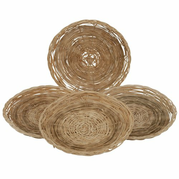 Mainstays Bamboo Paper Plate Holder