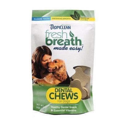 Tropiclean Fresh Breath Pet Chews, 6 Ounce Bag
