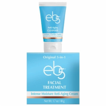 eb5 Facial Treatment + Bonus eb5 Anti-Aging Cleanser, 1 set