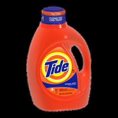 Tide Original Scent Liquid Laundry Detergent 100 Fl Oz
