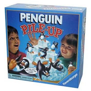Ravensburger Penguin Pile-up Game Ages 5+, 1 ea