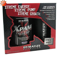 Dymatize Nutrition Xpand Xtreme Pump, Grape, Sugar Free, 1.76 Pounds