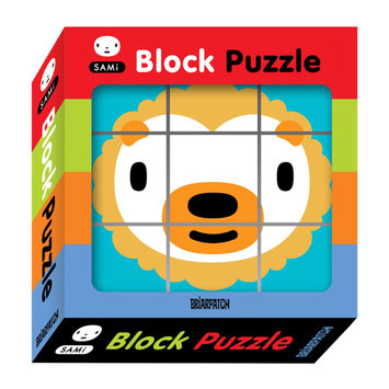 Briarpatch SAMi Block Puzzle: 9 Pcs