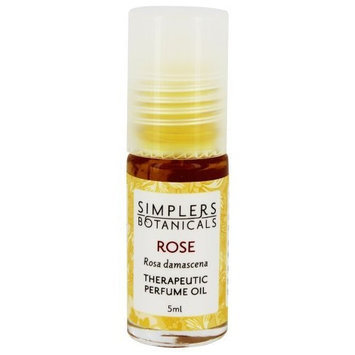 Simplers Botanical Company Simplers Botanicals - Therapeutic Perfume Oil Rose - 5 ml.
