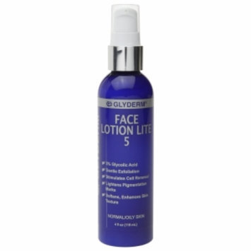 Gly Derm Face Lotion Lite 5, 4 oz