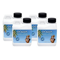 Salon Supply Store LOT 4 Bottles * OCEAN Tanning 8.5% 12.5% DHA Tan Solution Airbrush Spray Sunless