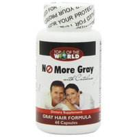 Ranisa Naturals Top of the World No More Gray with Catalase, Gray Hair Formula, 60 Capsules