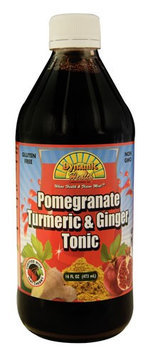 Dynamic Health Laboratories Dynamic Health - Turmeric and Ginger Tonic Pomegranate - 16 oz.